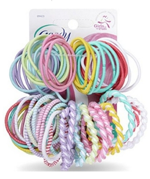 Goody Styling Essentials Girls Assorted Elastics, Ouchless, 60 Count Amazon.com - All Rights Reserved