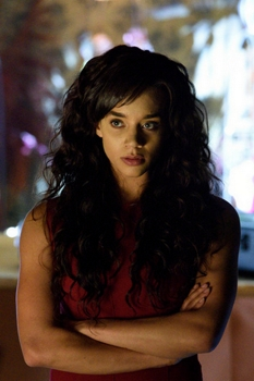 "KILLJOYS -- ""Bangarang"" Hannah John-Kamen as Dutch -- (Photo by: Steve Wilkie/Syfy) Temple Street Releasing Limited"