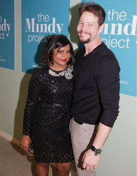 THE MINDY PROJECT -- FYC @ UCB Theater -- Pictured: (l-r) Mindy Kaling, Ike Barinholtz -- (Photo by: Chris Haston/NBC)  Wednesday, June 10 at the UCB Theater in Los Angeles  2015 NBCUniversal Media, LLC