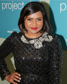 Vera Mindy Chokalingam aka Mincy Kaling THE MINDY PROJECT -- FYC @ UCB Theater -- Pictured: Mindy Kaling -- (Photo by: Chris Haston/NBC) Wednesday, June 10 at the UCB Theater in Los Angeles 2015 NBCUniversal Media, LLC