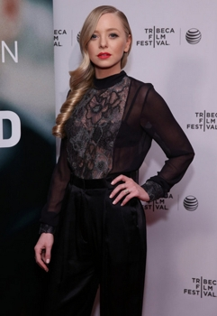 """April 26, 2015  MR. ROBOT -- """"Tribeca Film Festival Premiere of ?MR. ROBOT? in New York, NY on Sunday, April 26, 2015 """" -- Pictured: Portia Doubleday """"Mr. Robot"""" -- (Photo by: Neilson Barnard/USA Network)  Sunday, April 26, 2015 in New York"""