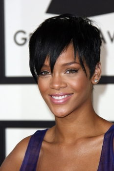 Rihanna - The 50th Annual Grammy Awards - The Staples Center in Los Angeles, on February 10, 2008. CBS - All Rights Reserved