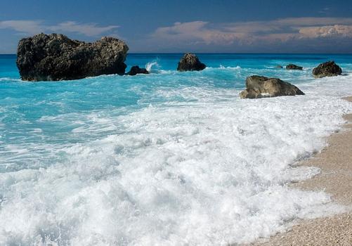 Kalamitsi beach, Lefkada island, Ionian sea, Greece - Creative Commons Use - All Rights Reserved