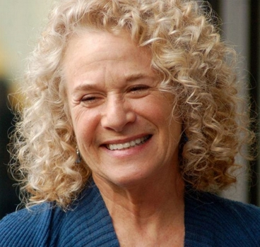 Carole King at a ceremony to receive a star on the Hollywood Walk of Fame - Wikipedia.com - All Rights Reserved