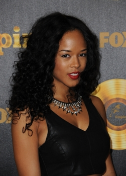 EMPIRE Series Premiere event at the Arclight Cinerama Dome Tuesday, Jan. 6 Arrivals EMPIRE: Serayah McNeil - Photographer Chuck Hodes - Fox/TV - All Rights Reserved