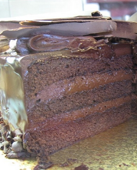 Chocolate Fudge Cake - Wikipedia - All Rights Reserved