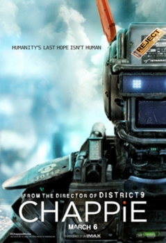 Chappie Film Poster - Wikipedia - All Rights Reserved