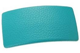 L. Erickson USA Genuine Leather Large Rectangle Barrette - L.Erickson/FranceLuxe.com
