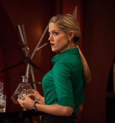 Pictured: Charity Wakefield as Cassandra -- (Photo by: Colleen Hayes/NBC) 2015 NBC Universal Media, LLC