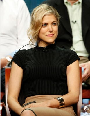 "NBC Universal Press Tour, August 2015 -- NBC's ""The Player"" Session -- Pictured: Charity Wakefield, Star -- (Photo by: Ben Cohen/NBCUniversal)"