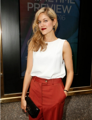 "2015 NBC Upfront Presentation - Red Carpet Arrivals - Charity Wakefield, ""The Player"" - (Photo by: Peter Kramer/NBC)"