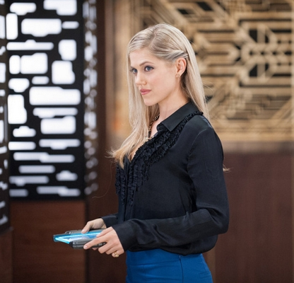 Charity Wakefield as Cassandra - (Photo by: Colleen Hayes/NBC) NBC Universal Media, LLC Thursday, October 15 on NBC (10-11 p.m. ET)