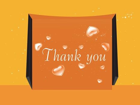 Thank You Note - GraphicStock - Licensed to Hairboutique.com - All Rights Reserved