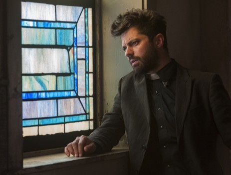 AMC Preacher Hair - Dominic Cooper as Jesse Custer - Preacher _ Season 1, Episode 7 - Photo Credit: Lewis Jacobs/Sony Pictures Television/AMC
