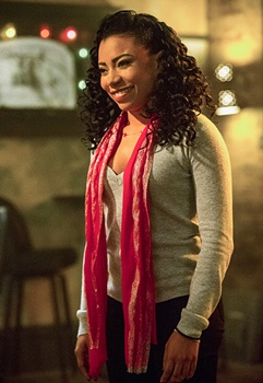 Natural Curl Hair Flat Top - Shalita Grant as Sonja Percy on the CBS series NCIS: NEW ORLEANS, Photo: Skip Bolen/CBS ©2015 CBS Broadcasting, Inc. All Rights Reserved
