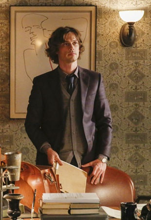Long Male Layered - Pictured: Matthew Gray Gubler (Dr. Spencer Reid) Photo: Cliff Lipson/CBS ©2016 CBS Broadcasting, Inc. All Rights Reserved