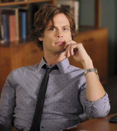 Long Male Layered - Dr. Reid (Matthew Gray Gubler) -CBS Television Network. Photo: Vivian Zink/ABC Studios ©2008 ABC Studios. All Rights Reserved.