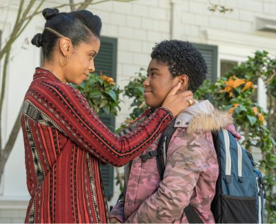 "THIS IS US -- ""Number Three"" Episode 210 -- Pictured: (l-r) Susan Kelechi Watson as Beth, Lyric Ross as Deja -- (Photo by: Ron Batzdorff/NBC)"
