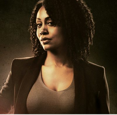 Waves, Curls, Coils Or Kinks? - Simone Missick on Luke Cage — Photo Courtesy Of Netflix - All Rights Reserved