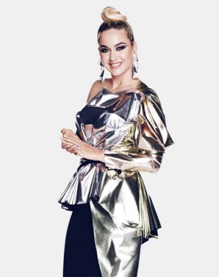 Katy Perry's Ultimate Sleek Topknot Hairstyle - Katy Perry on American Idol - 2020