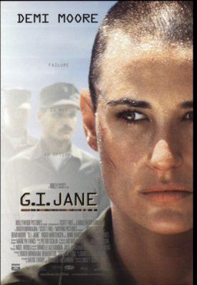 Get Demi's G.I. Jane Body - Demi Moore in GI Jane - Movie Poster