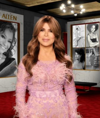 George Hurrell's Hair Halos - THE 43rd ANNUAL KENNEDY CENTER HONORS - Paula Abdul, CBS Television Network - Screen Grab/CBS 2021 CBS Broadcasting, Inc. All Rights Reserved