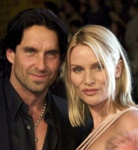 Nicollette Sheridan and Niklas Soderblom at Ocean's Twelve, Los Angeles Premiere - Arrivals - Photo credit: David Gabber / PR Photos