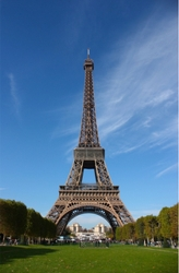 French Eiffel Tower - All Rights Reserved
