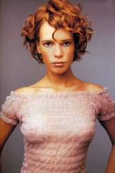 Short Hair With Loose Spiral Curls by Andrew Mulvenna - North Ireland - All Rights Reserved