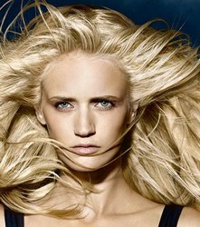 Long Wheat Color Blonde Hair From Goldwell