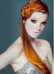 Beautiful Long Cinnamon Red Hair