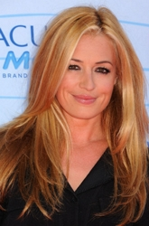 Cat Deeley With Long Bone Straight Hair