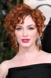 Diffuse Hair Correctly: Straight, Wavy Curly Hair ChristinaHendricks