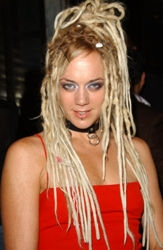 Long Platinum Blonde Dreadlocks