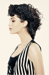 Curly Hair by Barbara Lhotan
