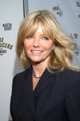 Cheryl Tiegs With Graduated Layered Bangs