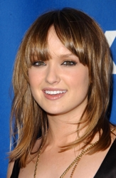 Kaylee DeFer With Uneven Bangs