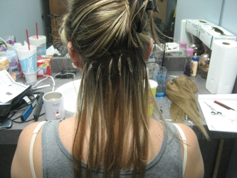 Do it yourself hair extensions tiffanytwist hairboutique articles brigid k oconnor diy hair extensions after several individual strand applications 08 04 07 solutioingenieria Images