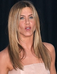 Jennifer Aniston With Shoulder Length Hair