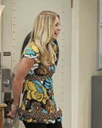 Kaley Cuoco Hair Secrets - Kaley Cuoco As Penny - Season Five - The Big Bang Theory On CBS
