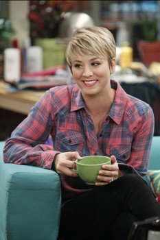 Article about Kaley Cuoco's Hair HowTo