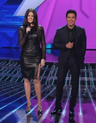 Khloé Kardashian Odom On X Factor With Mario Lopez
