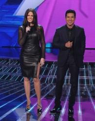 Khloé Kardashian Odom On X Factor With Mario Lopez