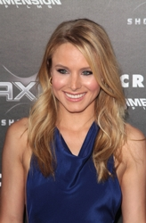 Article about Kristen Bell Long Lush Blonde Hairstyle