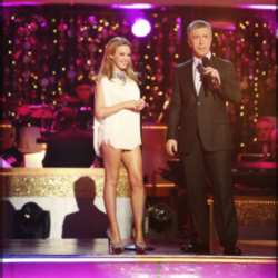 Superstar Kylie Minogue Performing On DWTS