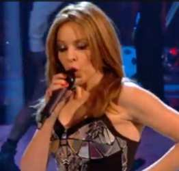 Kylie Minogue Performing On BBC