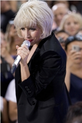 Lady Gaga Platinum Blonde Chin Length Bob