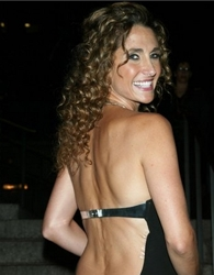 Melina Kanakaredes Sexy Ringlet Infused Long Hairstyle