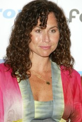 Actress Minnie Driver With Ringlet Bangs - Foam Magazine Image - DC Media - All Rights Reserved