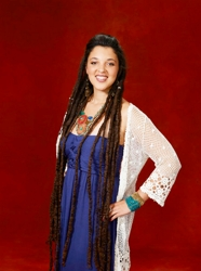 Naia Kete With Ankle Length Long Dreadlength Hair - NBC's The Voice